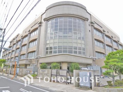 川崎市立中野島小学校 距離600m