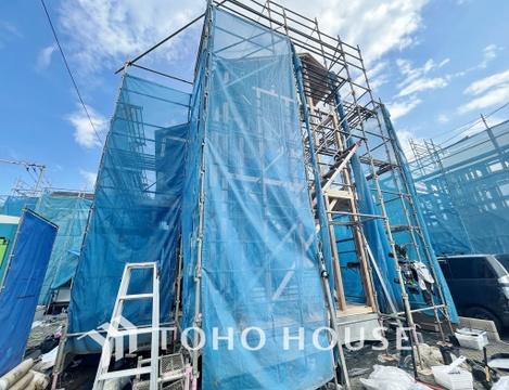 ~2021年9月上旬完成予定~利便性の良い住宅街に大規模分譲地が誕生~
