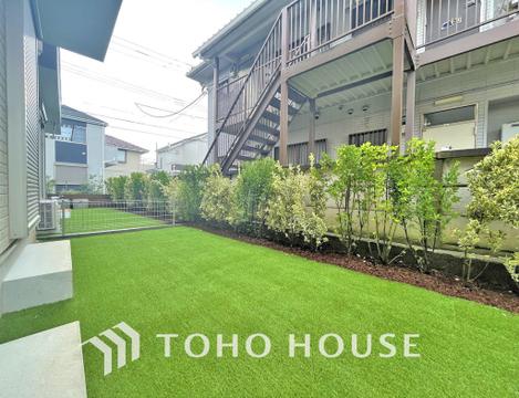 日当たりの良いお庭スペースはご家族の楽しめる場所の一つに
