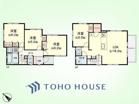 4LDK 土地面積101.58平米、建物面積94.73平米
