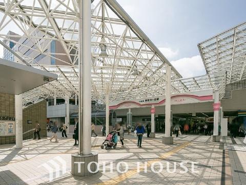 小田急電鉄小田原線「新百合ヶ丘」駅 距離1900m