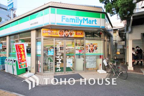 ファミリーマート 横浜大口駅前店 距離600m