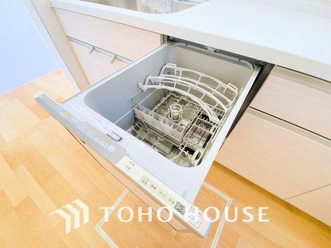 食洗器付きでお片付けの時間が短縮できます