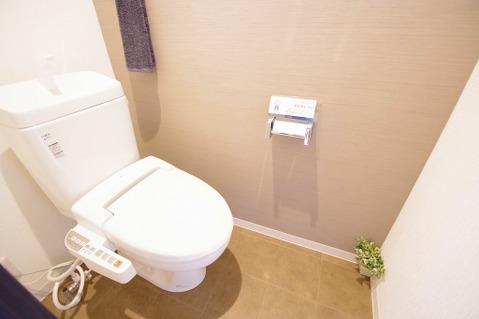 新規交換済みトイレ