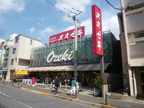 オオゼキ上野毛店 距離1300m