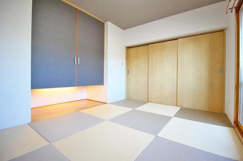 約6.0帖の和室はしっとりと落ち着いた雰囲気