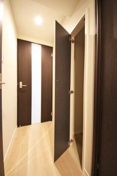 廊下収納スペース