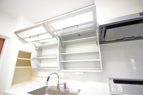 キッチン新規収納スペース