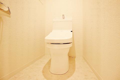 トイレ交換済