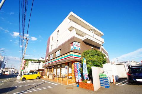 セブンイレブン 横浜樽町店 距離750m