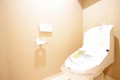 新規設置済みトイレ