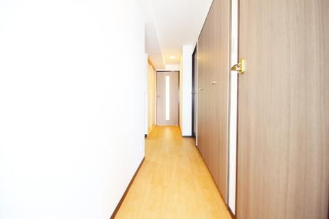 廊下にもクローゼットを完備 豊富な収納量で嬉しいですね