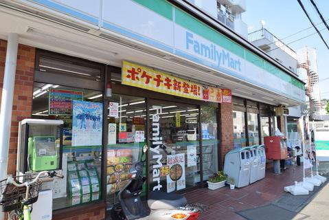 ファミリーマートエクセレンス野川店 距離500m