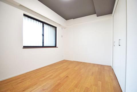 6帖洋室 全居室収納完備です!