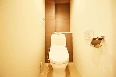 新規リフォーム済みのトイレ