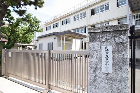 川崎市立日吉中学校 距離470m