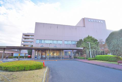 関東中央病院 距離600m