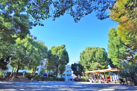 宮崎第二公園 距離400m