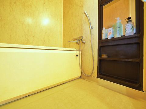 H27年に水栓、鏡を交換済みのバスルーム