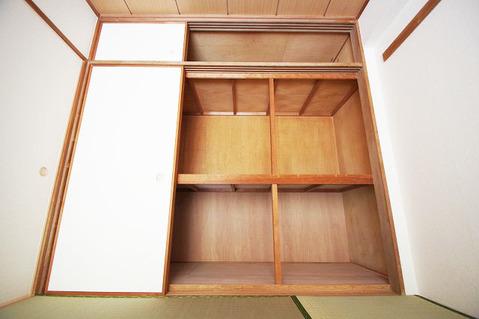 和室約6.0帖 収納スペース