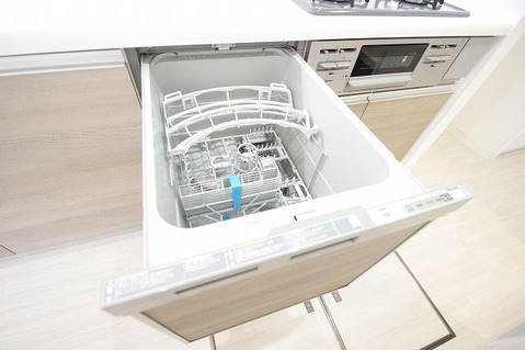 食洗機つきのキッチン