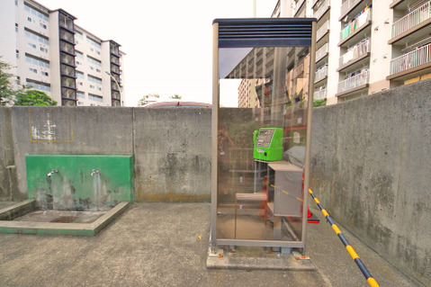 敷地内電話ボックス
