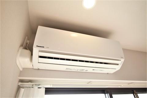 約6帖洋室のエアコン