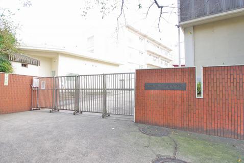 横浜市立市ケ尾小学校 距離600m