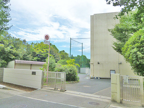 横浜市立美しが丘中学校 距離800m