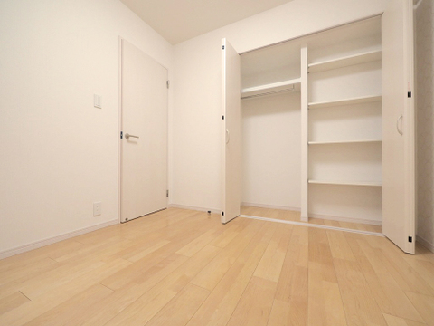 全部の居室に収納場所をご用意しております