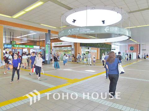 JR南武線「武蔵溝ノ口」駅 距離1400m