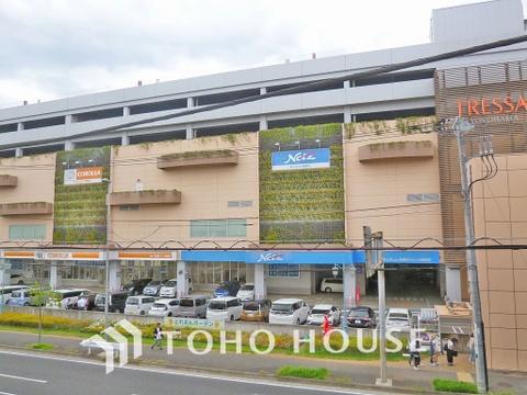 トレッサ横浜 距離350m