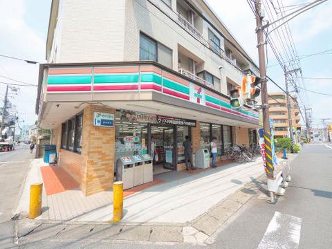 セブンイレブン 川崎神地店 距離550m