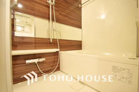 浴室乾燥機を完備した一日の疲れを癒す浴室