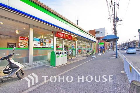 ファミリーマート 港北師岡町店 距離260m
