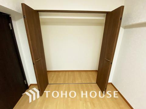 全居室に収納スペースを完備
