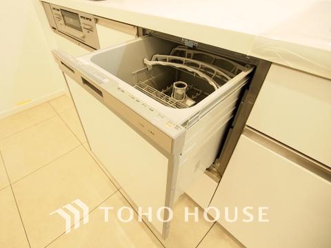 ビルトイン式食洗機を完備