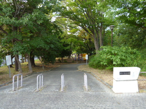 藤が丘公園 距離340m