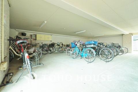 駐輪場の空き状況はご確認ください