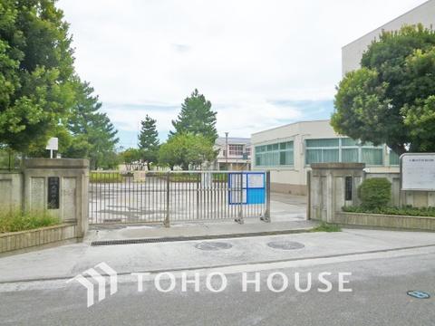 横浜市立大綱中学校 距離850m