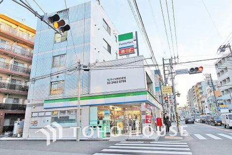 ファミリマート 横浜菊名店 距離500m