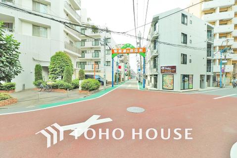 武蔵関駅前通り商店街 距離150m