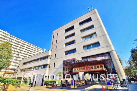 横浜市鶴見区役所 距離1100m