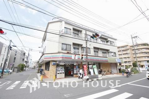 セブンイレブン 川崎神地店 距離400m