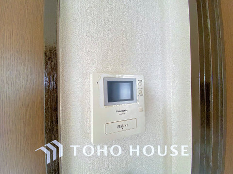 来客が一目でわかるTVモニター付きインターホン