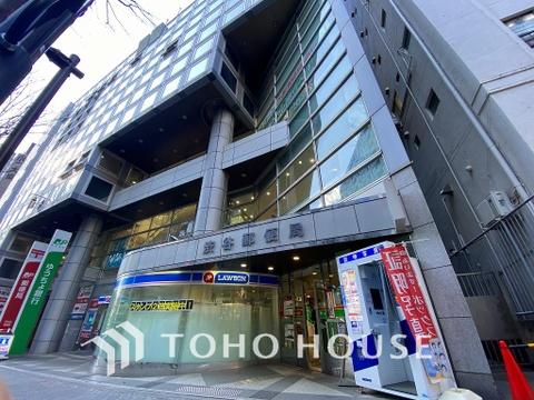 渋谷郵便局 距離1500m