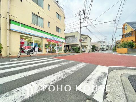ファミリーマート 京王多摩川店 距離400m