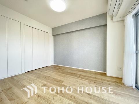 5.7帖ほどの居室は、使い勝手が良く好みのデザインにできます