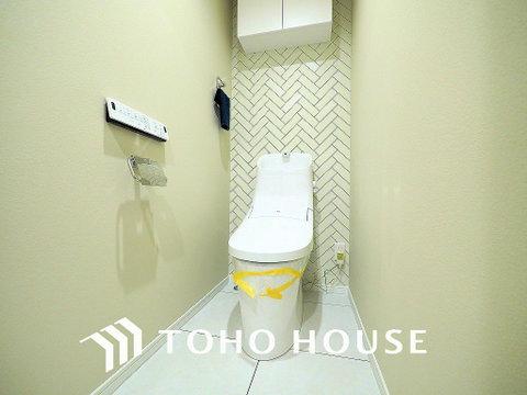 トイレには快適な温水洗浄便座付 トイレは2ヶ所設置