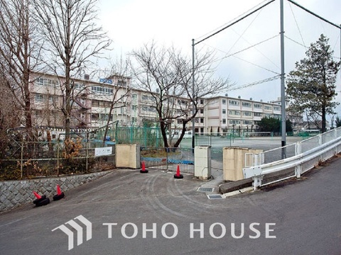 川崎市立西生田中学校 距離1100m